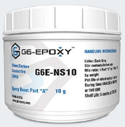 SILVER/CARBON CONDUCTIVE EPOXY G6E-NS10