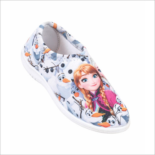 D-62 Girls Printed Belly Shoes