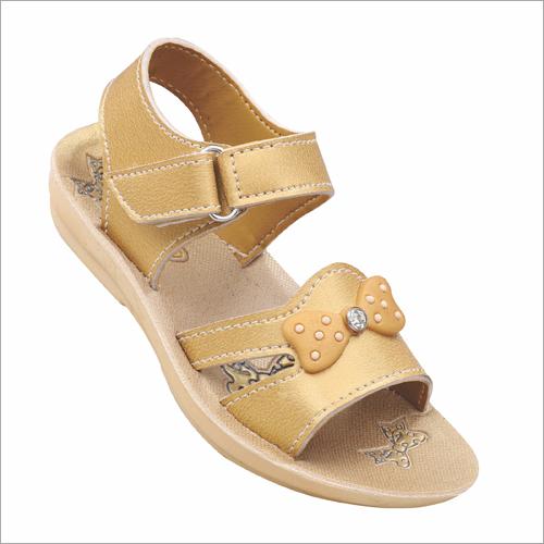 Kids Golden Sandals