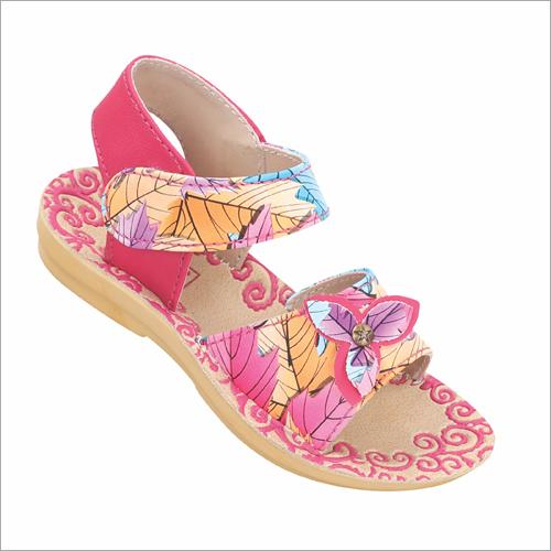 Kids Floral Print Sandals