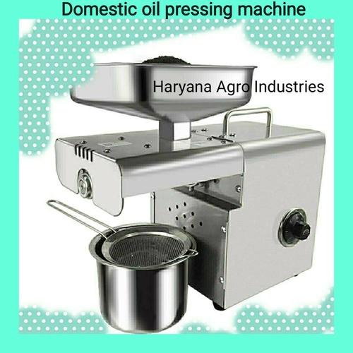 Domestic Oil Pressing Machine