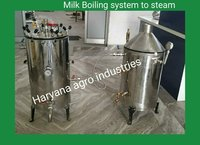 Milk Boiling System to System