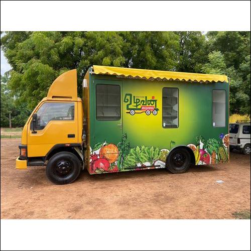 Fresh Fruit And Veggie Mart Truck