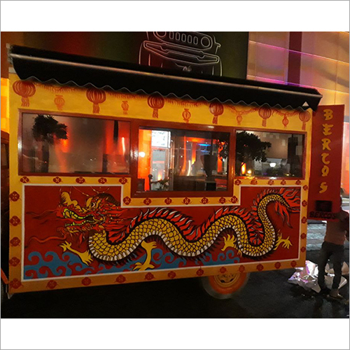 Movable Art Food Truck