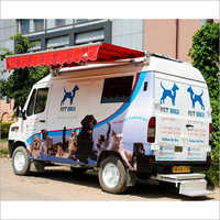Movable PET Salon And Spa Truck