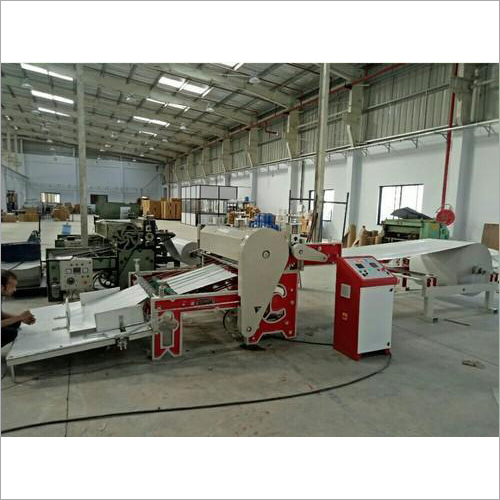 High Speed Duplex Paper Board Roll Cutting Machine