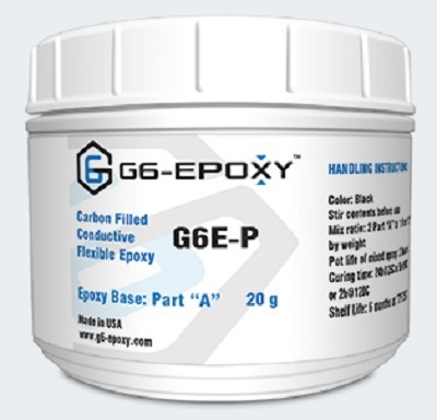 CARBON FILLED CONDUCTIVE EPOXY G6E-P