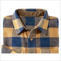 Twill Fabric Check Shirt