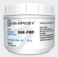 FLEXIBLE CARBON FILLED CONDUCTIVE EPOXY G6E-FRP