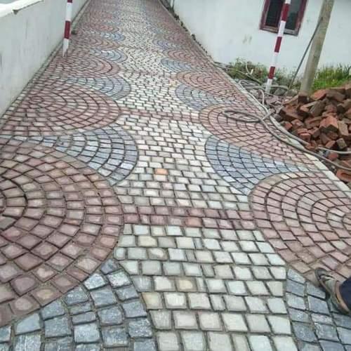 Mix Brown Pathway Stones