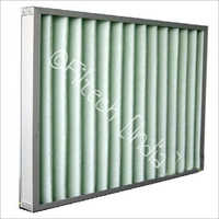 Fiber Glass Pleated Panel Filter