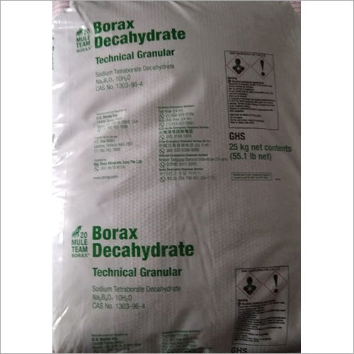 Borax Decahydrate Granular Powder