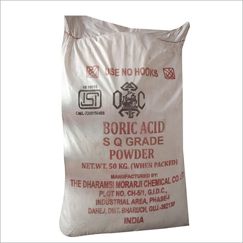 Boric Acid SQ Grade Powder