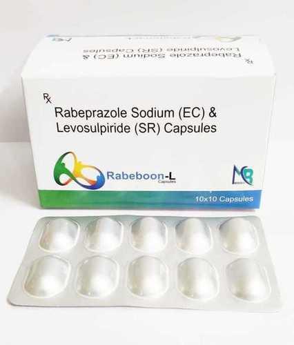 Rabeprazole Sodium(e.c)20 mg & Levosulpride(sr) 75mg CAP