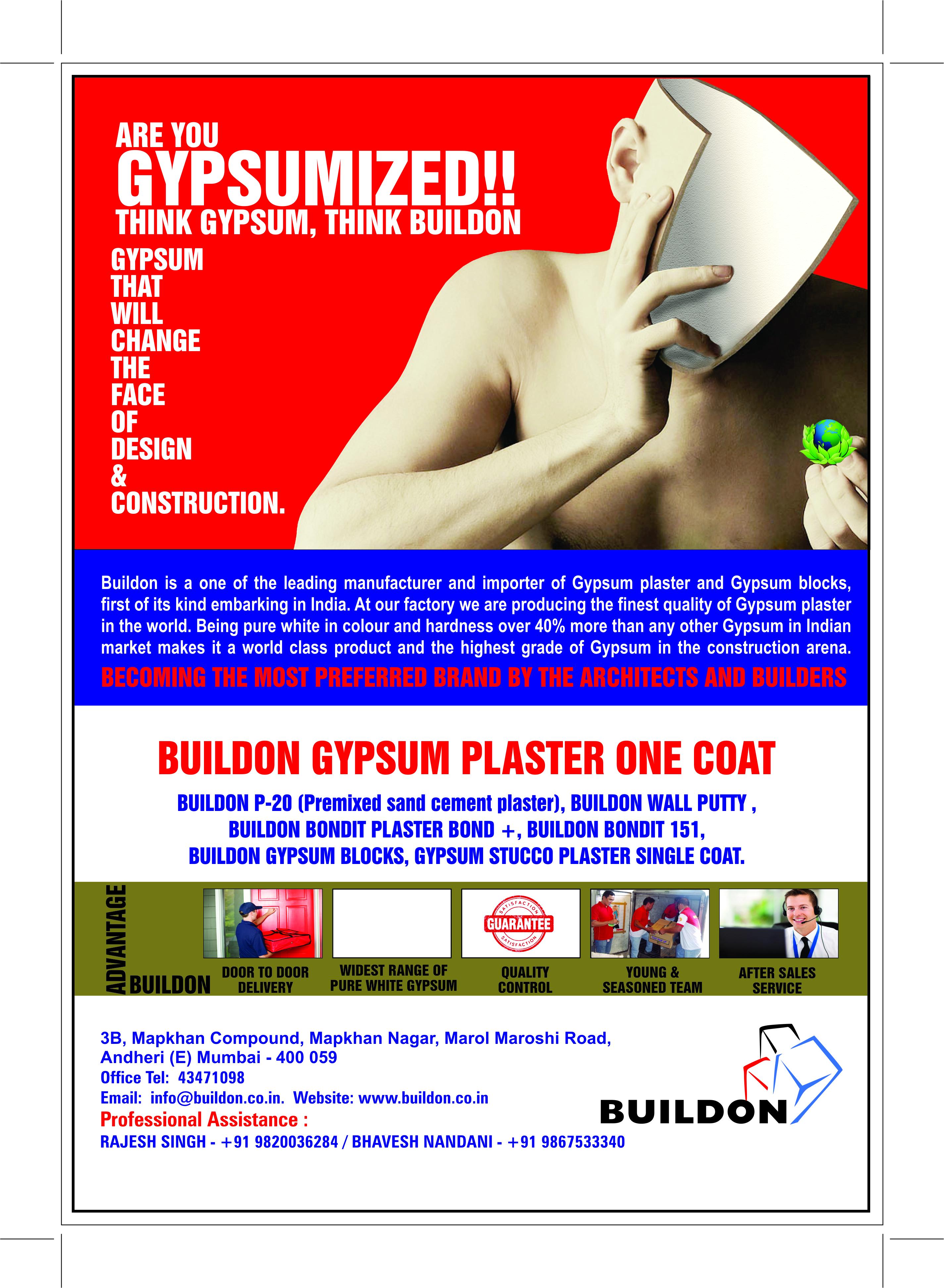 BUILDON GYPSUM