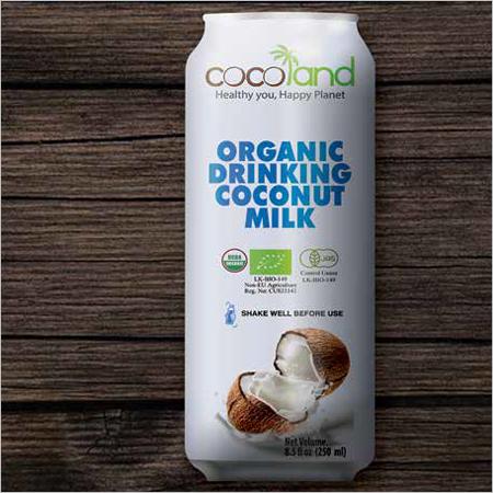 Organic Drinking Coconut Milk