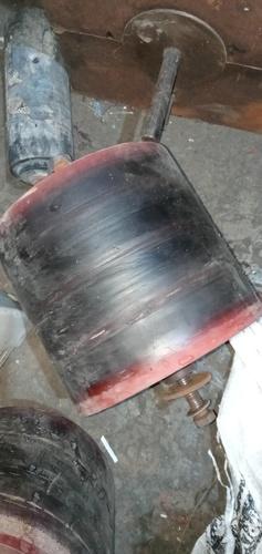 PU rubber roller