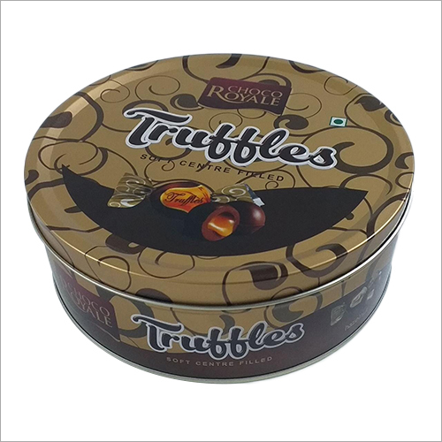 Choclate Round  Container