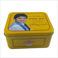 Gift Tin Container