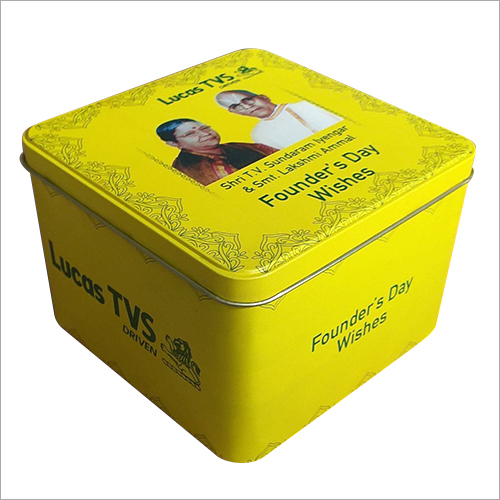Printed Gift Tin Container