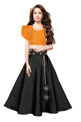 self design kids lehenga choli (naira)