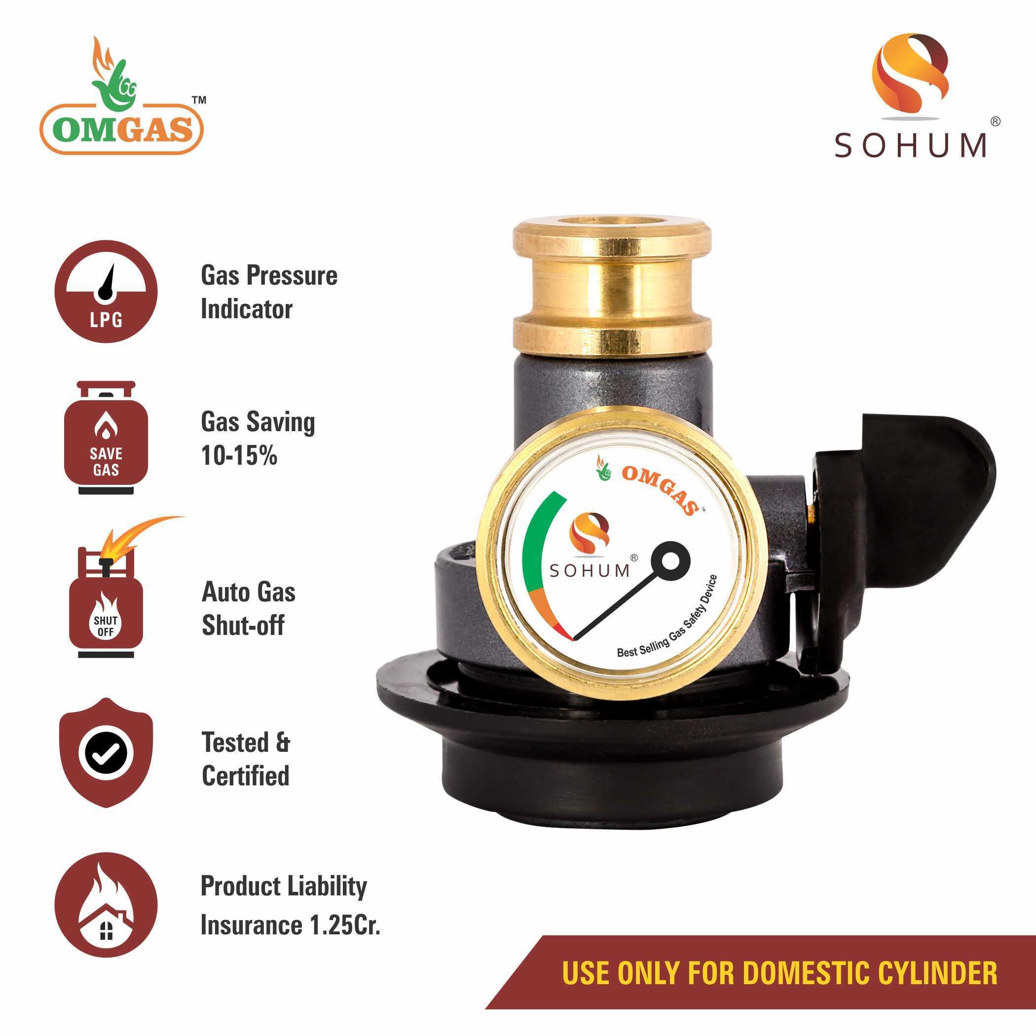 Brass Gas Safety Device