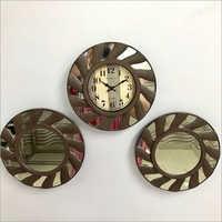 Decorative Wall Clock And Mirror