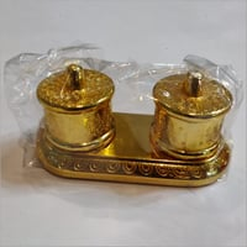 Brass Pickle Jar Set