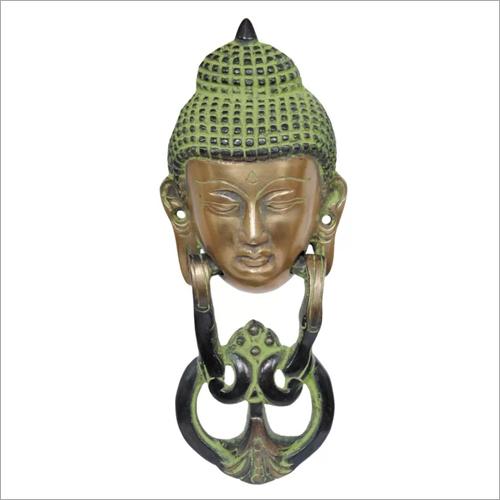 Brass Buddha Door Knocker