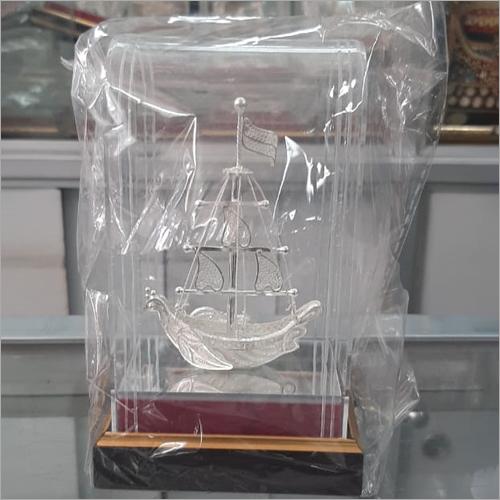 Silver Filigree Ship