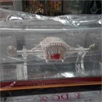 Decorative Silver Plated Palki