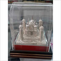 Decorative Silver Plated Taj Mahal
