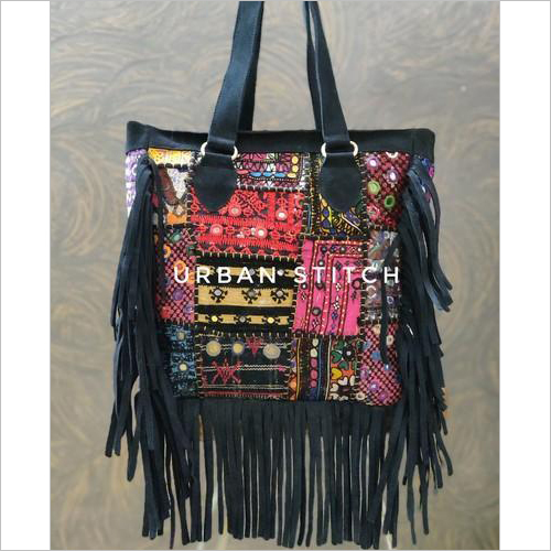 Suede Leather Banjara Bag