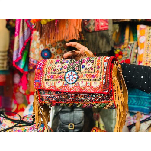Hand Embroidered Banjara Bag