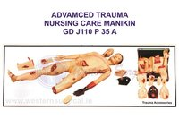 ADVAMCED TRAUMA NURSING CARE MANIKIN GD J110