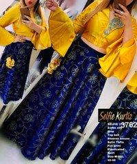 Designer Selfi kurtis 3762