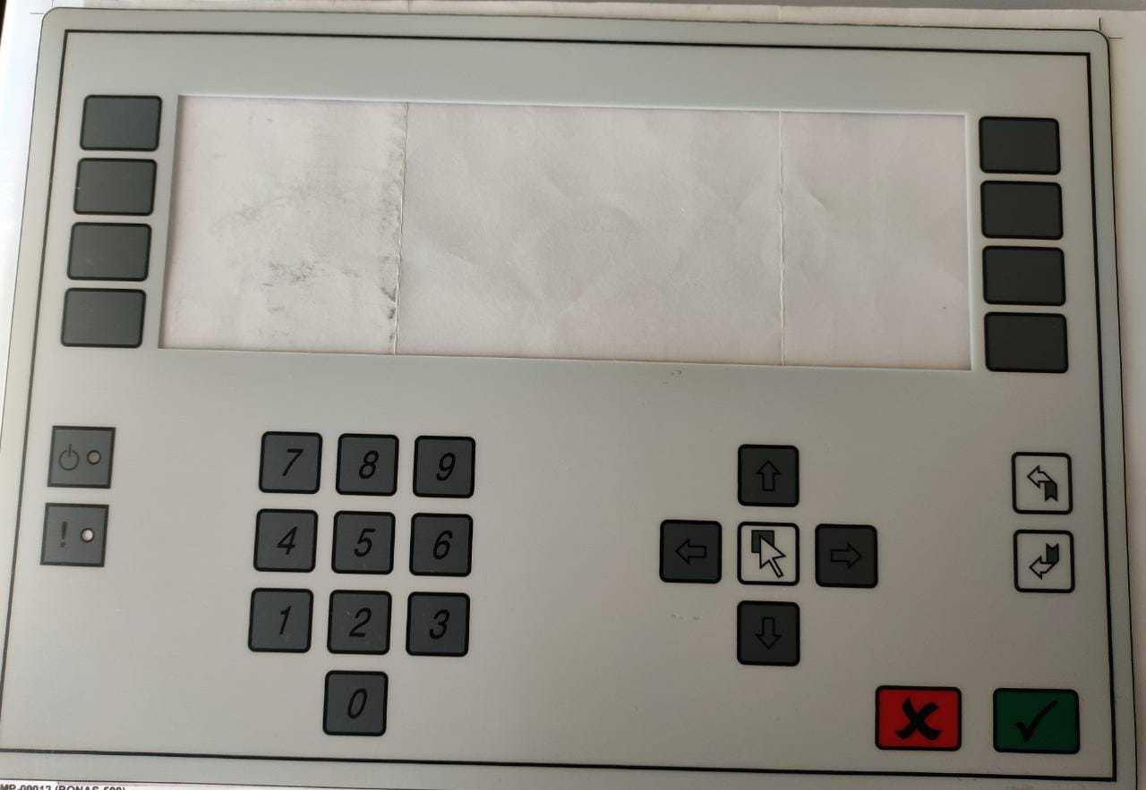 Keypad for Bonas-500 Controller