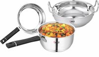 Stainless Steel Kadhai and Fry Fan