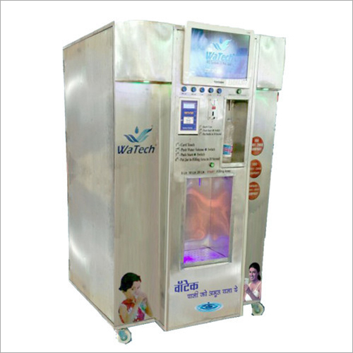 Coin And Card Water Vending Machine