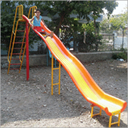 Outdoor Playground Wave Slide