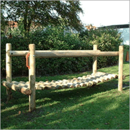 Outdoor Playground Balancing Bridge