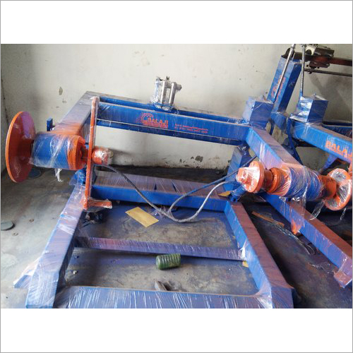 Wire Takeup Machine And Stand