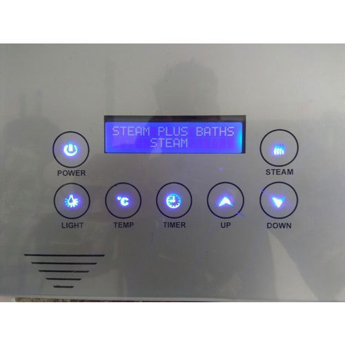 Steam Bath Touch Control Panel