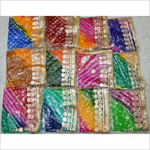 Fancy Bandhej Gota Patti Dupatta