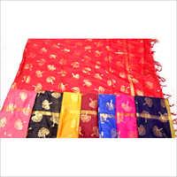 Chanderi Foil Print Dupatta