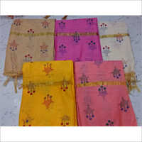 Chanderi Cotton Printed Dupatta