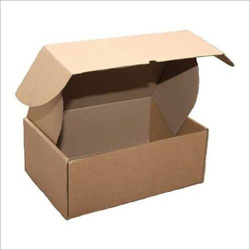 Brown Die Cutting Box