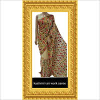 Kashmiri Hand Work Saree
