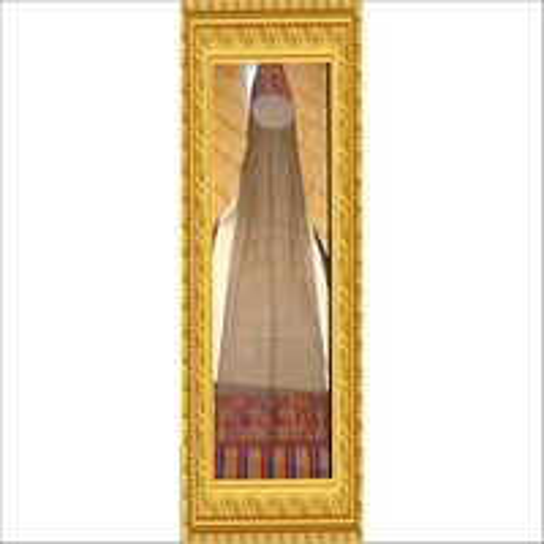 Pure Pashmina Border Hand Weaved Shawl