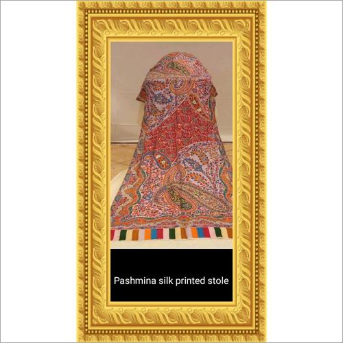 Pashmina Silk Printed Stole